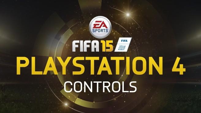 FIFA 15 Graphic Tutorials For PS4 Controls