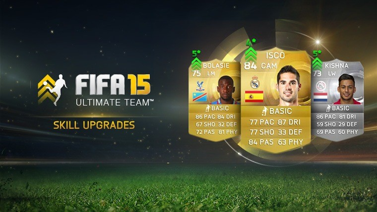 FIFA 15 February Players' Skill Moves Upgrades