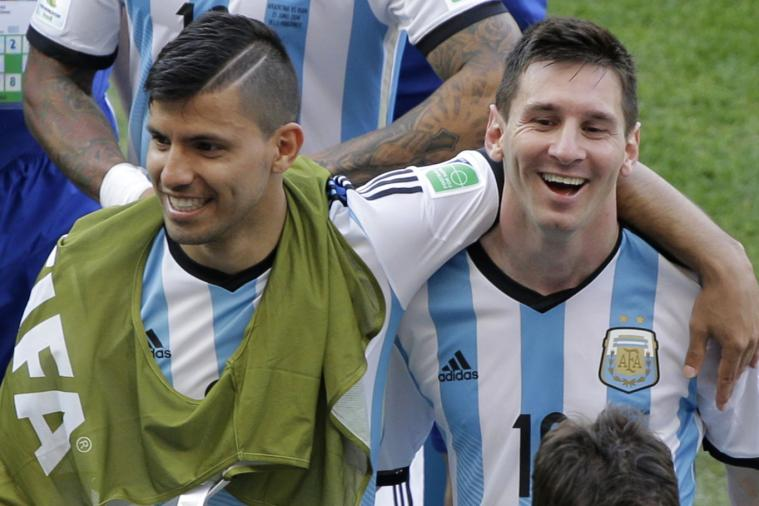 Messi will against Aguero on next February